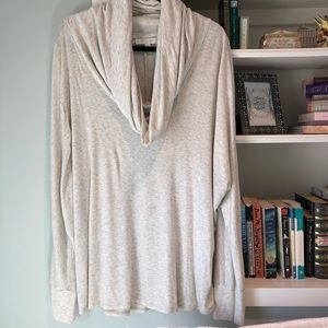 Anthropologie Cowlneck Sweater
